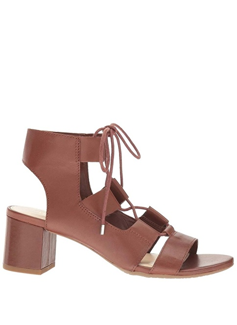 Nine West %100 Deri Sandalet Taba